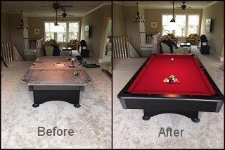 Pool-table-refelting-with-new-pool-table-felt-in-Castle Rock-content-img2